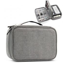 Wielofunkcyjny cyfrowy torba do przechowywania puste kabel USB do transmisji danych przewód słuchawek długopis Power bank HDD or