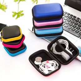 Przenośny danych torba do przechowywania kabli przewód słuchawek organizator Case dla linii słuchawek zestaw słuchawkowy szafa o
