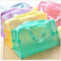 5 kolor wodoodporny torba pcv kosmetyczne kobiety przezroczyste organizator dla makijaż etui kompresji ponad milion osób powiedz