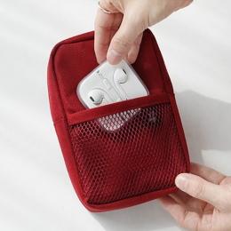 Gadżet podróżny organizator torba przenośna kabel cyfrowy torba na akcesoria elektroniczne etui przenośne etui na USB power Bank